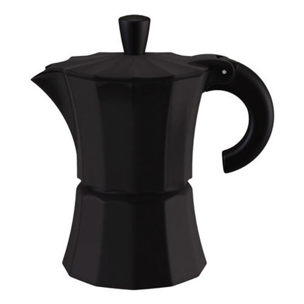 Алюминиевая гейзерная кофеварка Morosina (на 6 чашек)