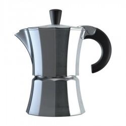 Алюминиевая гейзерная кофеварка Morosina (на 3 чашки)