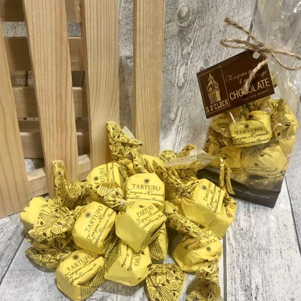 Трюфель шоколадный TARTUFO КОРИЦА И ИМБИРЬ