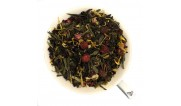 Черный с зеленым чай с добавками